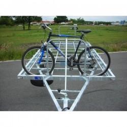 Remorque Porte vélo.