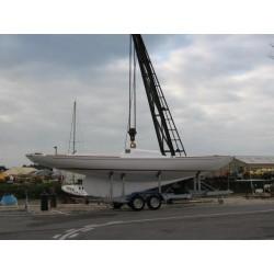 Remorque bateau voilier sun way G1000V16